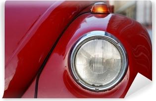 Mural de Parede Autoadesivo VW Volkswagen Beetle Old