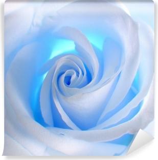 Mural de Parede em Vinil blue rose