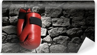 Mural de Parede em Vinil Boxing gloves