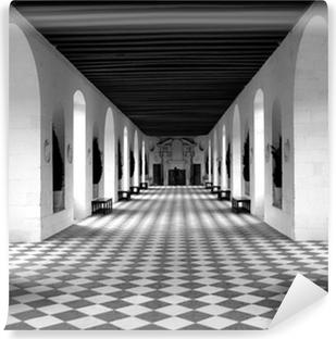 Mural de Parede em Vinil checkerboard floor