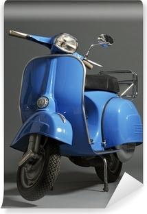 Mural de Parede em Vinil Classic italian scooter