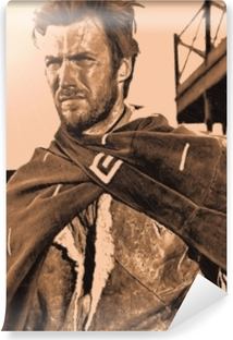 Mural de Parede em Vinil Clint Eastwood