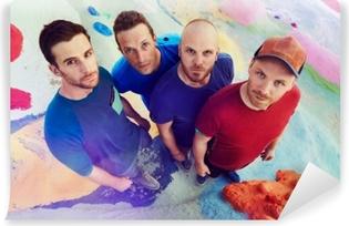 Mural de Parede em Vinil Coldplay