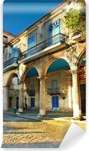 Mural de Parede em Vinil Colonial architecture in Havana