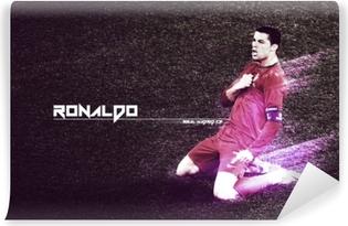Mural de Parede em Vinil Cristiano Ronaldo