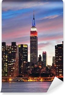 Mural de Parede em Vinil Empire State Building at night