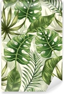 Mural de Parede em Vinil Folhas padrão