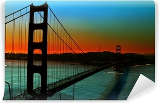 Mural de Parede em Vinil Golden Gate Bridge