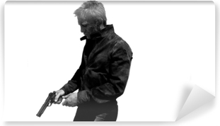 Mural de Parede em Vinil James Bond