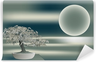 Mural de Parede em Vinil Japanese maple bonsai