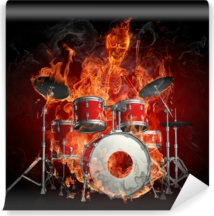 Mural de Parede Lavável Drummer