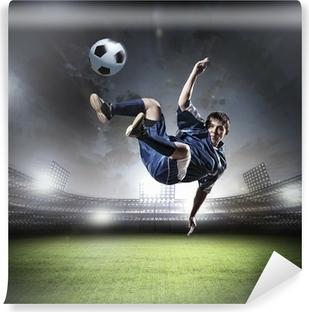 Mural de Parede Lavável Football player
