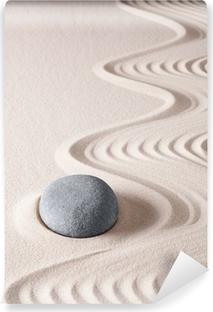 Mural de Parede Lavável zen meditation stone