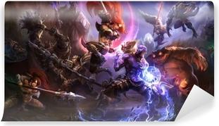 Mural de Parede em Vinil League of Legends