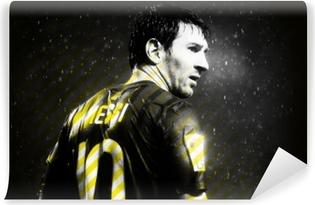 Mural de Parede em Vinil Lionel Messi
