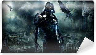 Mural de Parede em Vinil Mass Effect