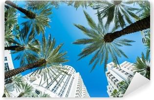 Mural de Parede em Vinil Miami Beach