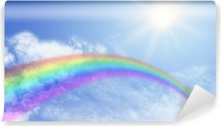 Mural de Parede em Vinil Rainbow Website Banner Header