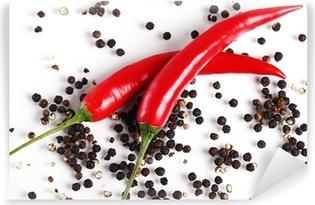 Mural de Parede em Vinil Red chilli pepper