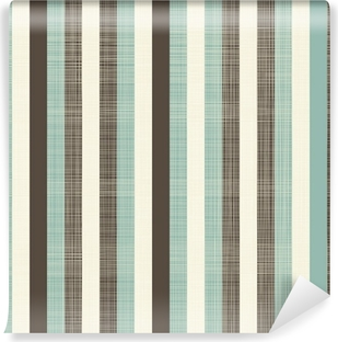 Mural de Parede em Vinil retro geometric abstract background with fabric texture