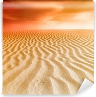 Mural de Parede em Vinil sand desert sunset