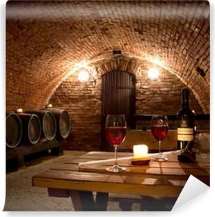 Mural de Parede em Vinil Wine cellar