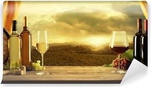 Mural de Parede em Vinil Wine