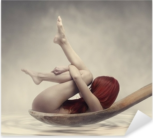 Naklejka Pixerstick Beauty Bath