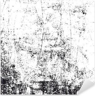 Naklejka Pixerstick Biały i czarny grunge tekstury, wektor