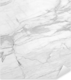 Naklejka Pixerstick Biały marmur (High.Res.)