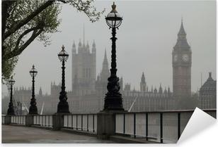 Naklejka Pixerstick Big Ben i Houses of Parliament
