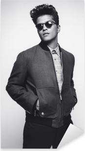 Naklejka Pixerstick Bruno Mars
