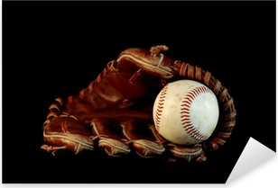 Naklejka Pixerstick Czysta baseball