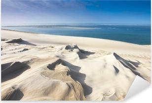 Naklejka Pixerstick Dune du Pyla niedaleko Arcachon