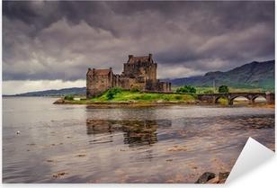Naklejka Pixerstick Eilean Donan Castle, Highlands, Szkocja