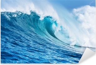 Naklejka Pixerstick Fal oceanicznych