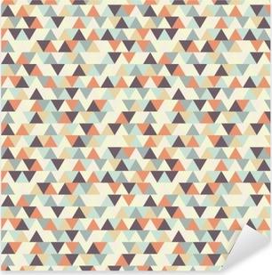 Naklejka Pixerstick Geometryczny wzór powtarzalne