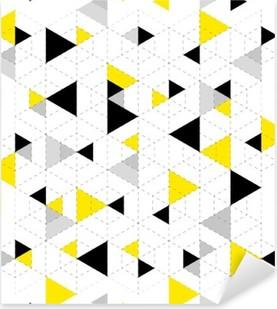 Naklejka Pixerstick Geometryczny wzór w tle