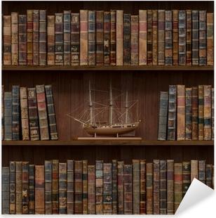 Naklejka Pixerstick Książki bezszwowych tekstur. kafelki z innymi tekstury w mojej galerii