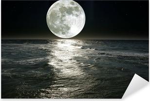 Naklejka Pixerstick Księżyc