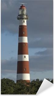Naklejka Pixerstick Latarnia morska na Ameland