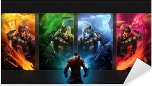 Naklejka Pixerstick League of Legends