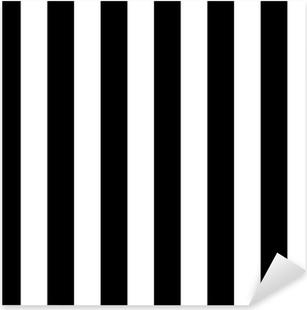 Naklejka Pixerstick Linie ukośne czarno-biały wzór