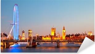 Naklejka Pixerstick London Eye Panorama