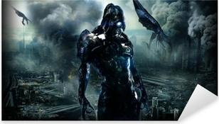 Naklejka Pixerstick Mass Effect