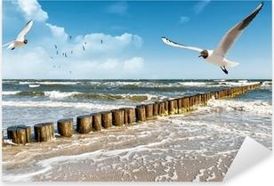 Naklejka Pixerstick Morze Bałtyckie
