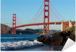 Naklejka Pixerstick Most Golden Gate