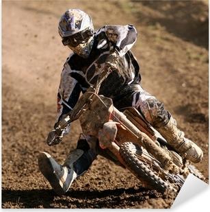 Naklejka Pixerstick Motocross