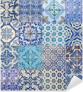 Naklejka Pixerstick Motywy azujelo bleu