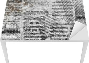 Naklejka na biurko i stół Grunge abstrakcyjne tło dla projektu gazety stare podarte PO